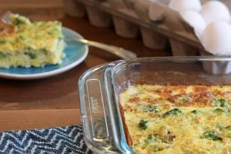 5 Minute Egg Bake: Delicious and perfect meal prep for breakfasts. | Muscle and Manna