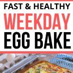 easy healthy egg bake