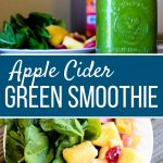 Apple Cider Green Smoothie