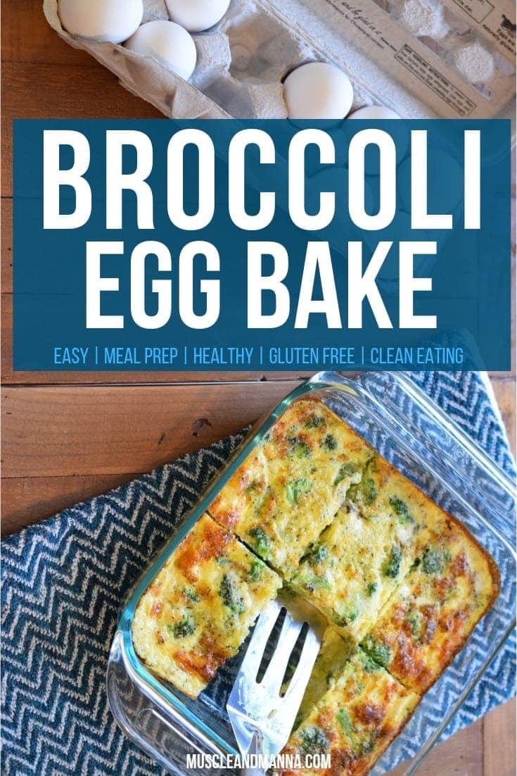 Easy Broccoli Egg Bake