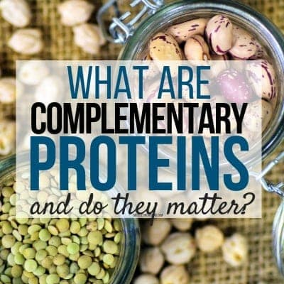 Are Complementary Proteins Necessary?