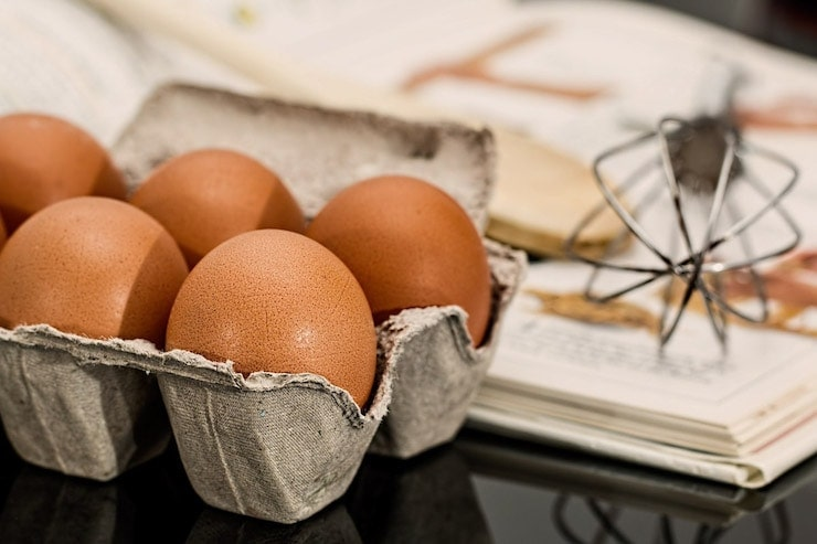 Eggs - a complete protein