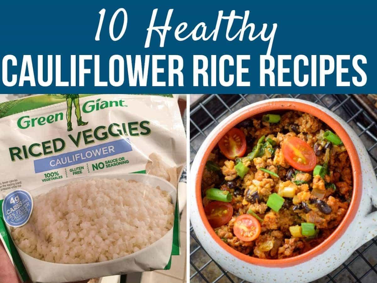 frozen cauliflower rice recipes