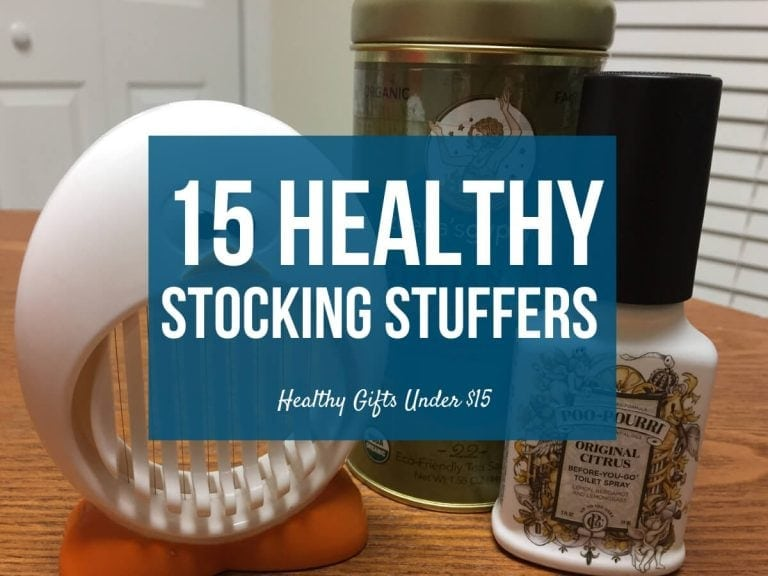 Healthy Stocking Stuffers: 15 Gifts Under $15