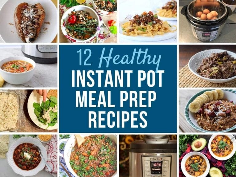 Instant Pot Meal Prep Recipes