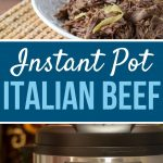 instant pot italian beef