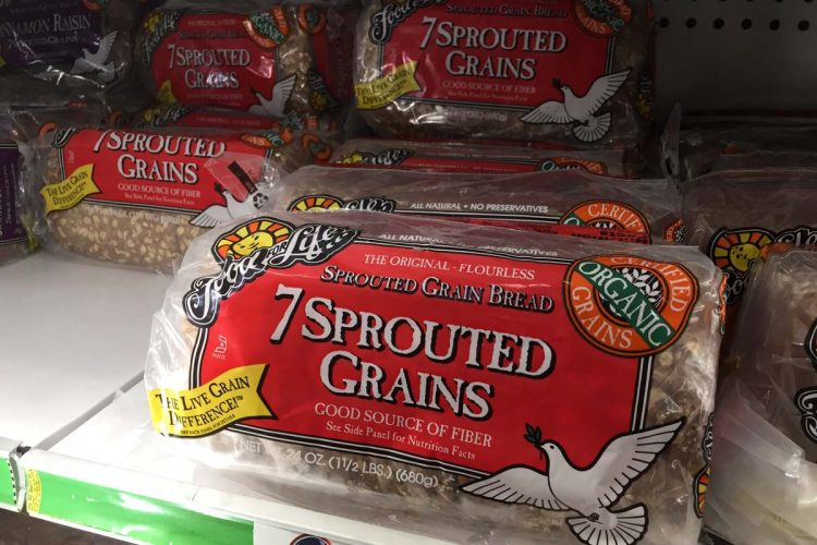 best sprouted grain bread
