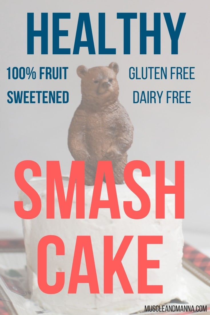 Sensational Healthy Smash Cake Sweetened With Fruit Muscle And Manna Funny Birthday Cards Online Elaedamsfinfo