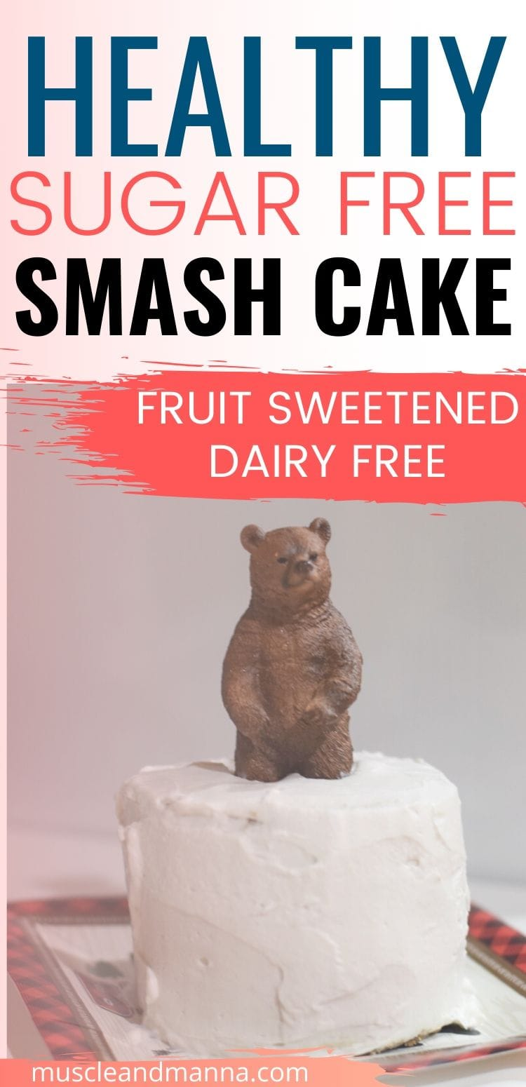 healthy baby smash cake