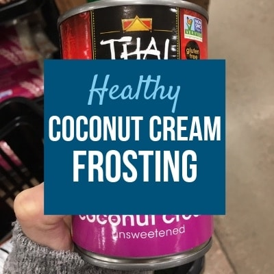Coconut Cream Frosting (Alternative to Frosting for Baby)