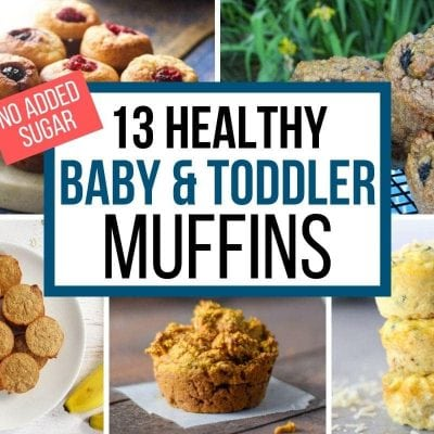healthy baby muffins