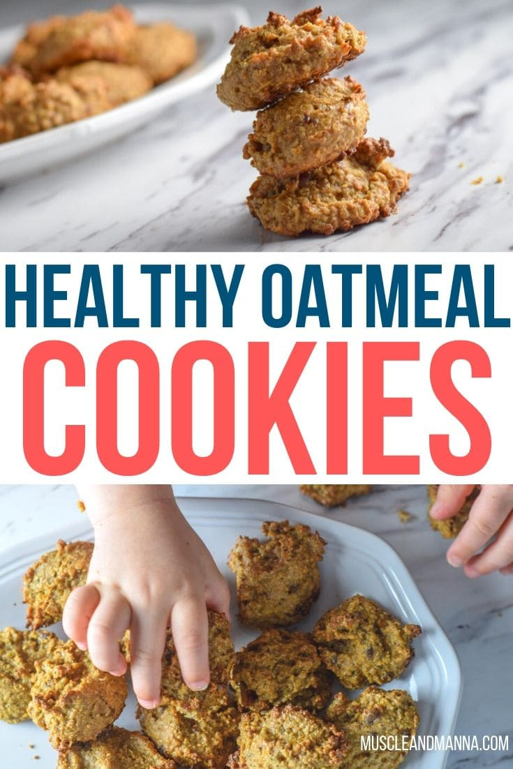 healthy oatmeal breakfast cookies for kids