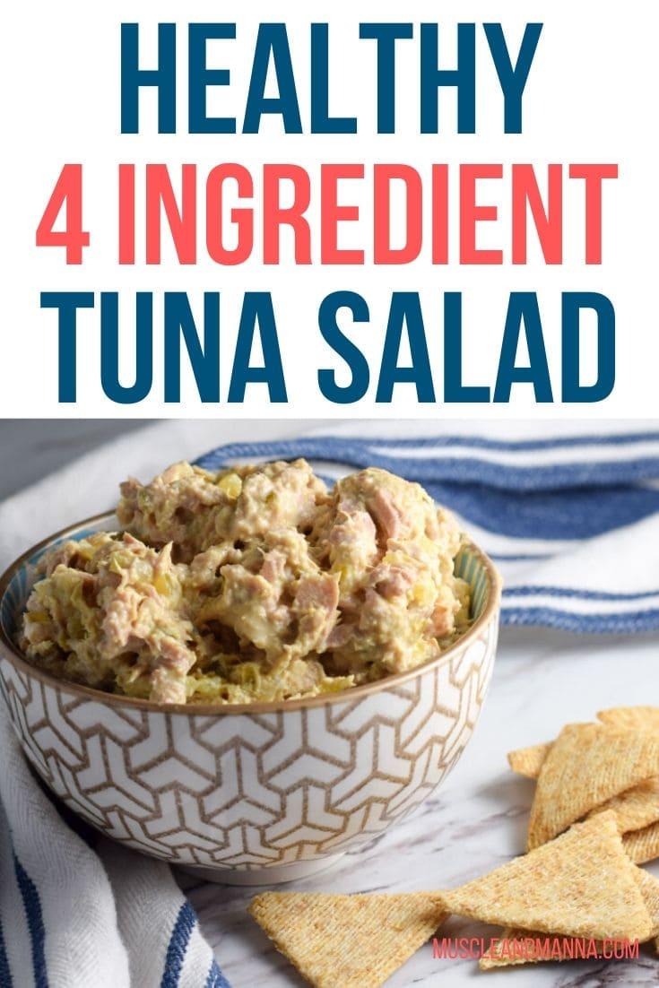 4 ingredient tuna salad