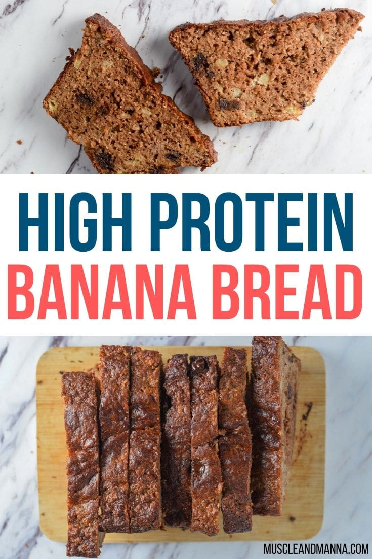 high protein banana bread