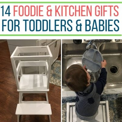 kitchen gifts for toddlers and babies
