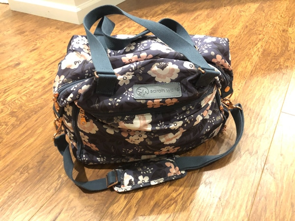 sara wells breastfeeding pump bag