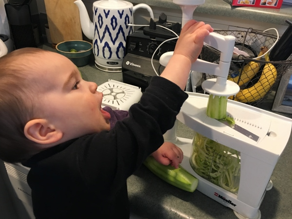 spiralizer a perfect kitchen gift for toddlers