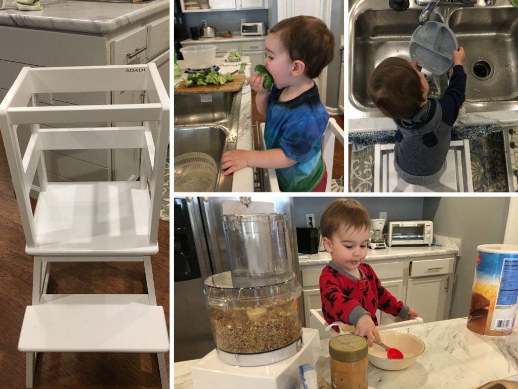 learning towers are perfect kitchen gifts for toddlers