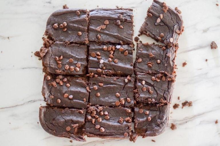 Black Bean Avocado Brownies – Gluten & Oil-Free