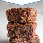 """text reads """"the best lactation brownies"""""""