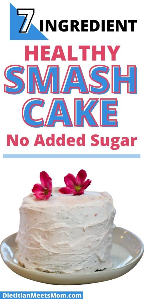 healthy smash cake recipe with no added sugar