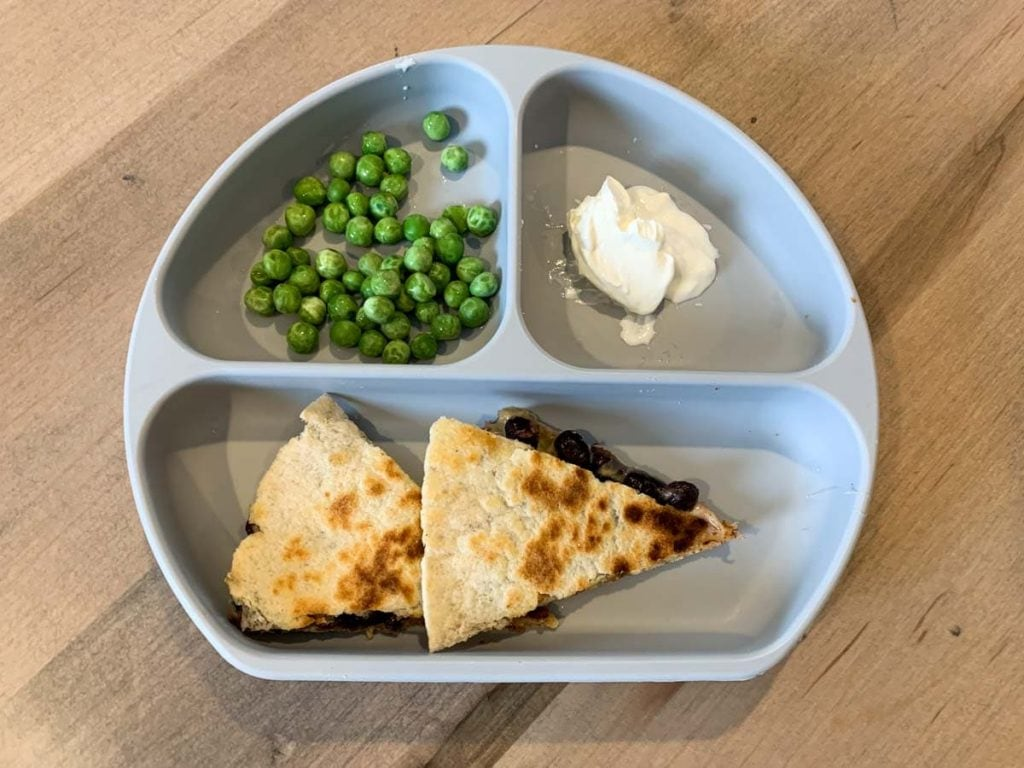 simple lunch for 1 year old or 2 year old