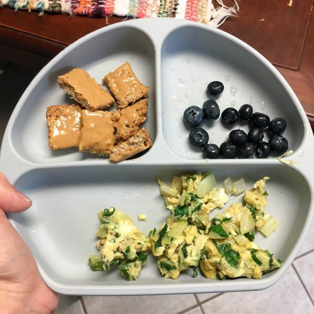 easy baby led weaning breakfast ideas